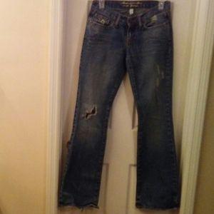 Abercrombie & Fitch Women Madison Jeans Sz 0R